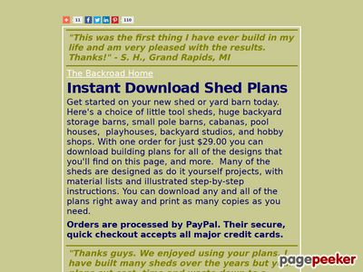41 Shed Plans and Free DIY Building Guides