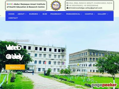 SHINE-ABDUR RAZZAQUE ANSARI INSTITUTE OF HEALTH EDUCATION & RESEARCH