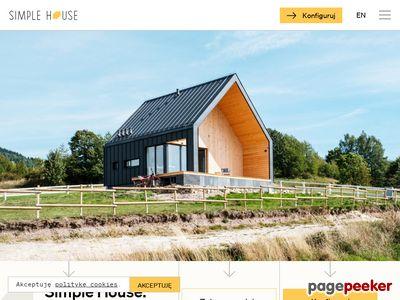 Dom drewniany Simple House