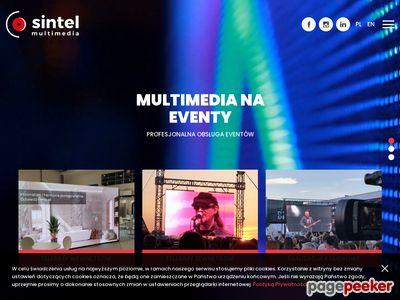 http://www.sintel.pl | telebim na komunię