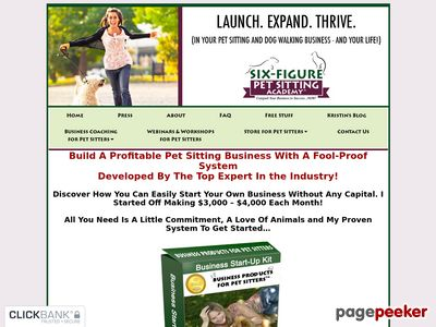 The Six-Figure Pet Sitting Academy