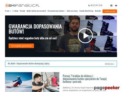 Www.skifanatic.pl - sklep ze sprzętem narciarskim