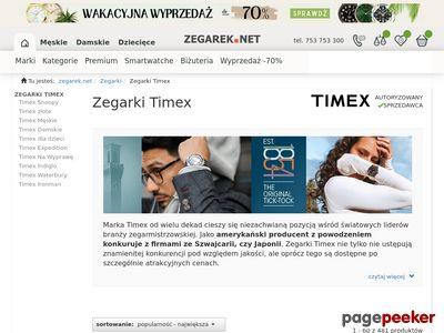 SklepTimex.pl Twoje zegarki Timex