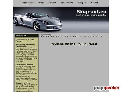 Odkup aut z Wrocławia