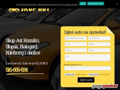 Skup aut Koszalin