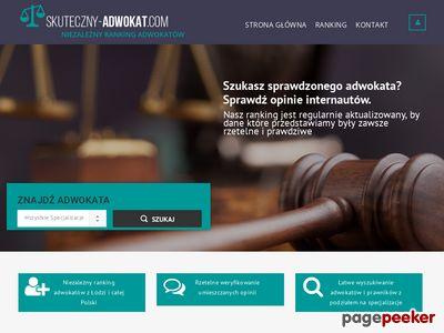 Adwokat sprawy cywilne Łódź