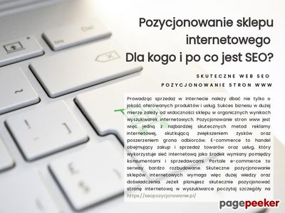 Skutecznyweb.pl - szablony allegro, tworzenie stron internetowych, projektowanie stron www
