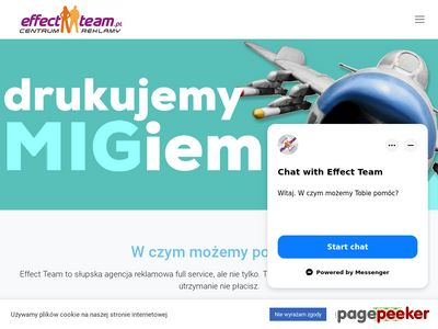Reklama Słupsk. Agencja reklamowa Effect Team.