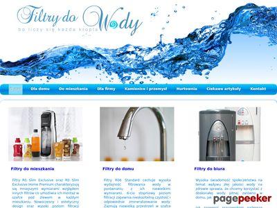 Profesjonalne filtry do wody