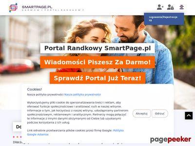 Zarejestruj się na portalu smartpage.pl