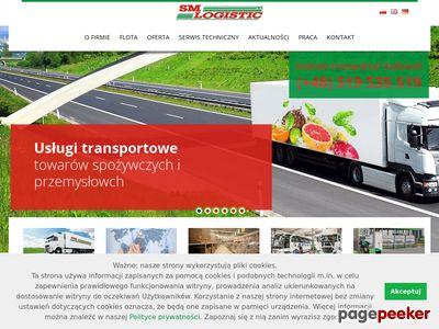 SM Logistic - transport chłodniczy