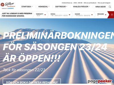 Boka stugor i Hemsedal - http://www.softresor.se