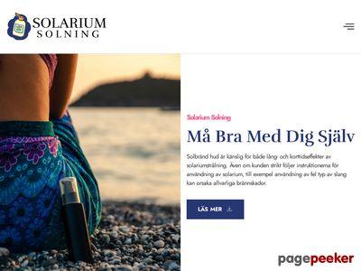Skärmdump av solariumsolning.se