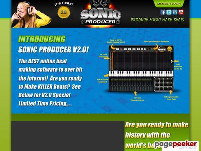 Now its easy to make rap beats online with our new beat maker â Sonic Producer