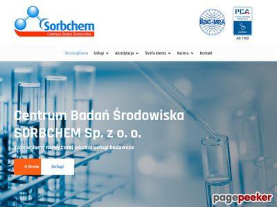 Sorbchem s.c. pomiary emisji