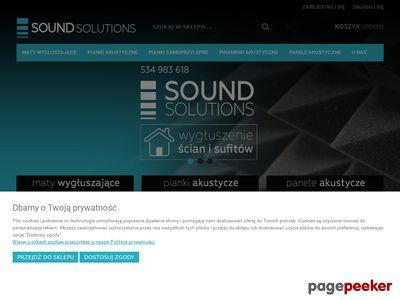 Soundsolutions.pl pianka akustyczna, maty