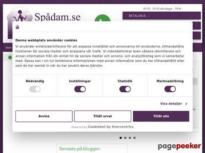 Spådam | Tarot | Spådom - Låt oss spå dig! - http://www.spadam.se