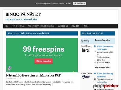Spela bingo online - http://www.spelabingoonline.net