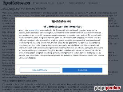 Speldator - Mest dator för pengarna - http://www.speldator.nu