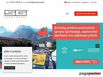 SportGrupa producent sprzętu