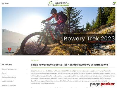 Sklep rowerowy SportSet Warszawa