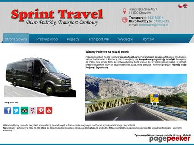 Sprint Travel Bus