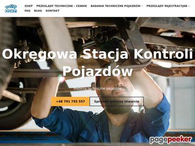 Okręgowa Stacja Kontroli Pojazdów Poznań Malwowa