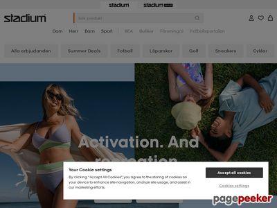 Sk�rmdump av stadium.se