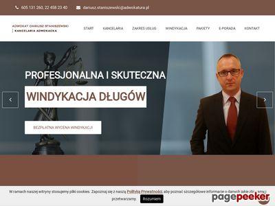 Kancelaria Prawnicza Warszawa, Adwokat Dariusz Staniszewski