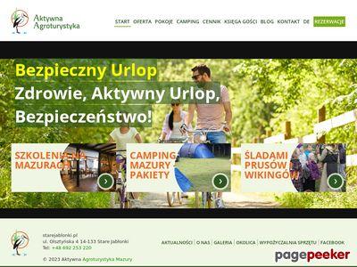 Starejablonki.pl - Mazury z dzieckiem