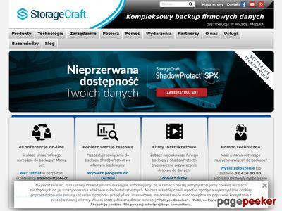 Backup i przywracanie danych - StorageCraft