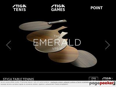 Stiga-tenis.pl artykuły do tenisa stołowego