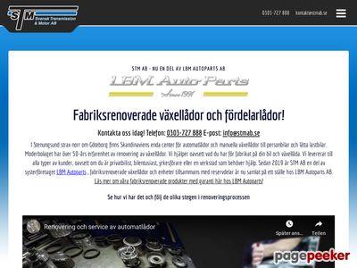Skärmdump av stmab.se