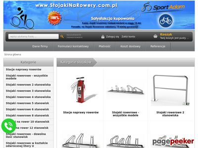 Stojaki na rowery - Sklep internetowy SPORT ADAM