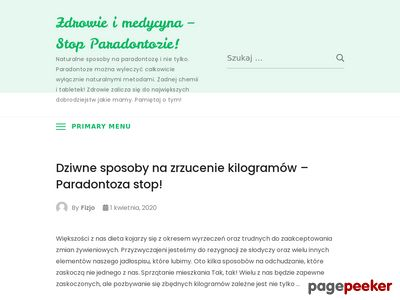 Periodent - leczenie paradontozy