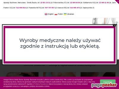 Aparaty słuchowe - StrefaSłuchu.pl