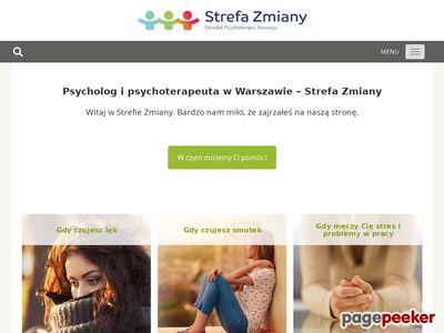 Psychoterapia Warszawa, psycholog Warszawa - Strefa Zmiany