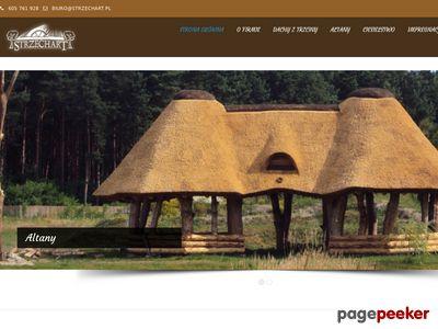 Strzechart- dachy z trzciny, dachy z wióra osikowego