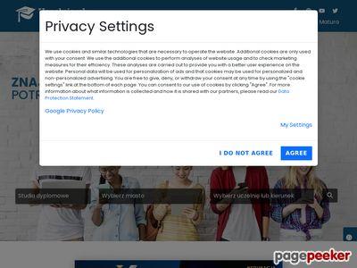 Studia- serwis z uczelniami, również uczelnie z Gliwic
