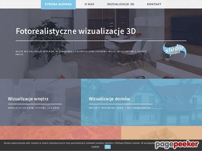 Wizualizacje 3D, wizualizacje wnętrz, strony internetowe, projekty graficzne