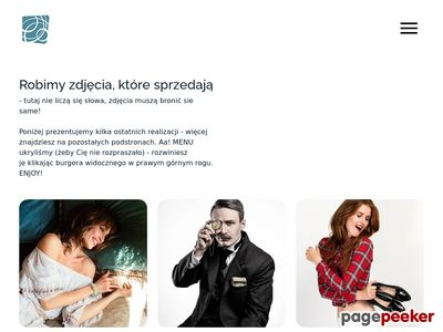 Studio - Deszcz - Kursy i warsztaty fotografii w Warszawie