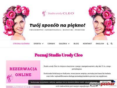 Studio Urody Cleo Salon komsetyczno-fryzjerski