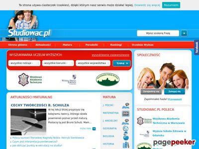 Katalog uczelni wyższych - Studiowac.pl
