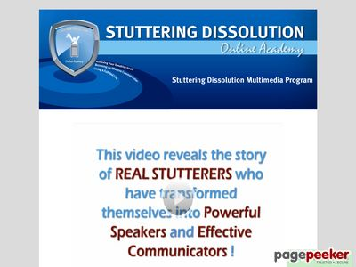 Stuttering Dissolution Multimedia Program