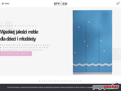 Stylico.pl - sklep online - Meble dziecięce i młodzieżowe