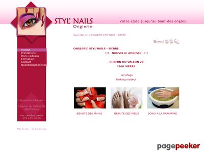 Styl'Nails Onglerie (Sierre) - A visiter!