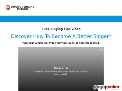 Superior Singing Doodle Video – Clickbank — Superior Singing Method