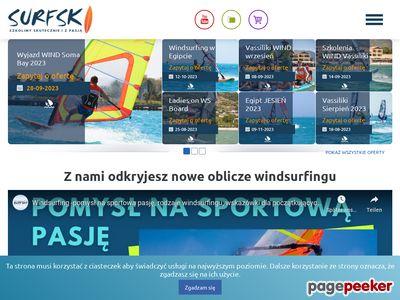 SURFSKI to biuro podróży dla windsurferów, kitesurferów, snowboardzistów i narciarzy.