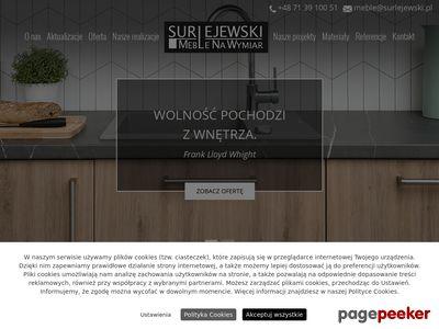 Surlejewski meble do łazienki Wrocław