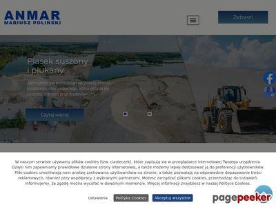 ANMAR piasek producent kujawsko-pomorskie